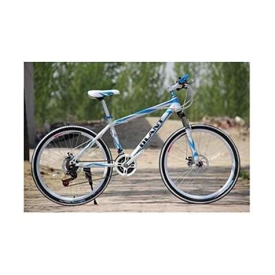 【送料無料】HCMNME Durable Bicycle, Outdoor Sports Fork Suspension Mountain Bike, 26Inch Wheels with Dual Disc Brakes, 2130 Speeds Shi