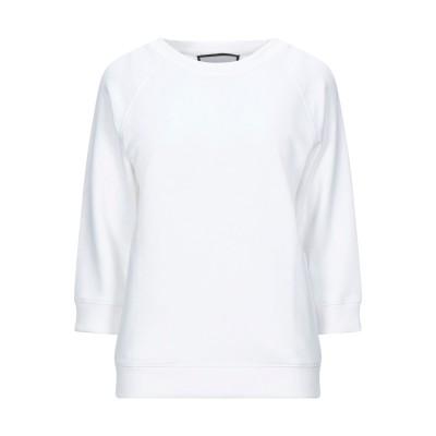 ROQA スウェットシャツ ホワイト XS コットン 100% スウェットシャツ