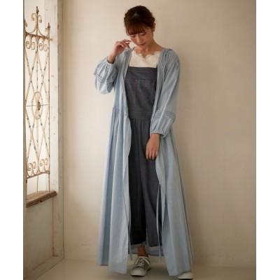大きいサイズ ピンタック使いカシュクールワンピース ,スマイルランド, ワンピース, plus size dress