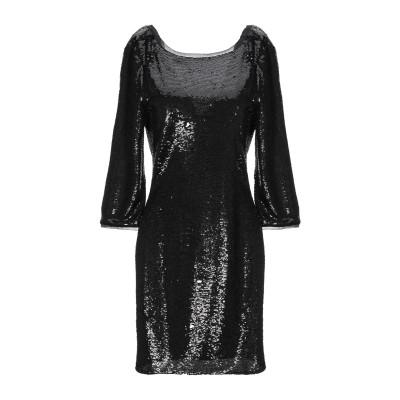 パトリツィア ペペ PATRIZIA PEPE ミニワンピース&ドレス ブラック 0 ポリエステル 100% ミニワンピース&ドレス