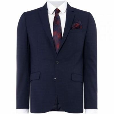 ケネス コール Kenneth Cole メンズ スーツ・ジャケット アウター Sydney Jacquard Broken Stripe Suit Jacket Navy