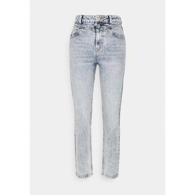 オンリー デニムパンツ レディース ボトムス ONLEMILY LIFE - Straight leg jeans - light blue denim