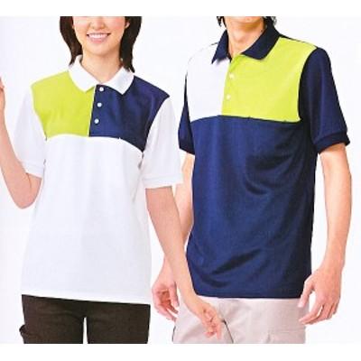 スリーカラーポロシャツ 216-10-13-14-18 全4色 (看護師 ドクター ナース 介護 メディカル白衣 「KAZEN」)