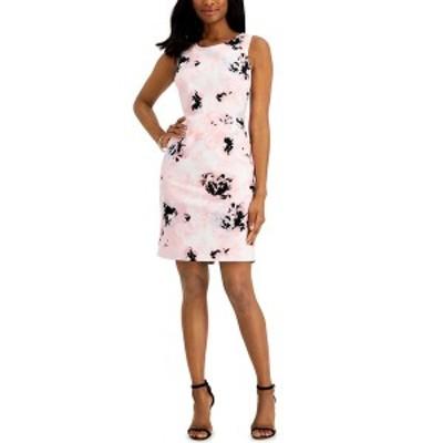 カスパー レディース ワンピース トップス Floral-Print Dress Tutu Pink Multi