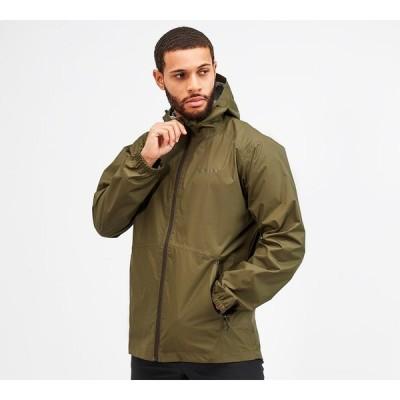 バーグハウス Berghaus メンズ ジャケット シェルジャケット アウター deluge light shell jacket Dark Green/Dark Green