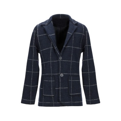 ALBARENA テーラードジャケット ブルー XL ウール 80% / ナイロン 20% テーラードジャケット