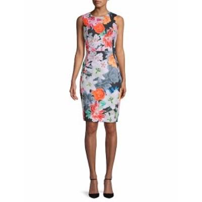カルバンクライン レディース ワンピース Floral Sheath Dress