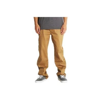 パンツ ディージーケー DGK Men's Street Chino Pants Brown   Cool Clothing Apparel