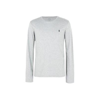 POLO RALPH LAUREN アンダーTシャツ ライトグレー S コットン 100% アンダーTシャツ