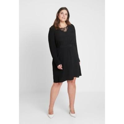 ジズ ワンピース レディース トップス XGRENADINE DRESS - Day dress - black