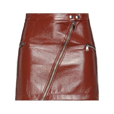 VICOLO ミニスカート ブラウン XS ポリエステル 65% / ポリウレタン 35% ミニスカート