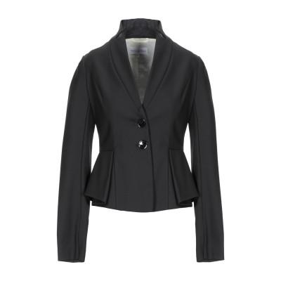 パトリツィア ペペ PATRIZIA PEPE テーラードジャケット ブラック 42 コットン 63% / ポリエステル 31% / ポリウレタン