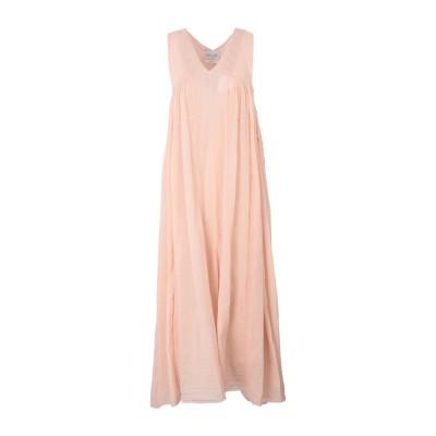 フォルテ フォルテ FORTE_FORTE ロングワンピース&ドレス ライトピンク 3 コットン 70% / シルク 30% ロングワンピース&ドレス