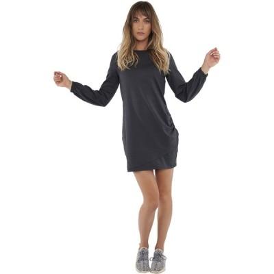 カーブデザイン ワンピース レディース トップス Lenora Dress - Women's Black/Iron