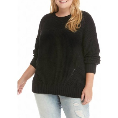 トゥルー クラフト レディース ニット・セーター アウター Plus Size Chenille Tunic