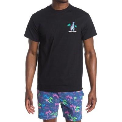 パーティーパンツ メンズ Tシャツ トップス Coachillin T-Shirt BLACK