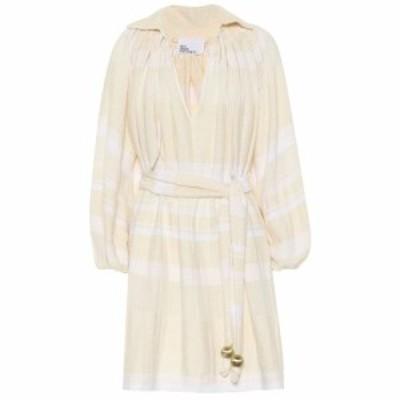 リサ マリー フェルナンデス Lisa Marie Fernandez レディース ワンピース ワンピース・ドレス Poet cotton minidress cream white strip