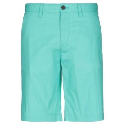TIMBERLAND ショートパンツ&バミューダパンツ  メンズファッション  ボトムス、パンツ  ショート、ハーフパンツ ライトグリーン