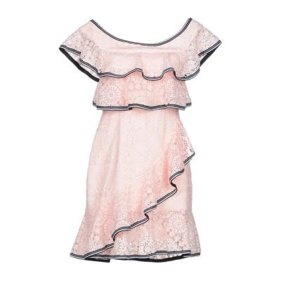 REBECCA VALLANCE ミニワンピース&ドレス ピンク 6 ポリエステル 100% ミニワンピース&ドレス