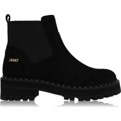 リュー ジョー Liu Jo レディース ブーツ ショートブーツ シューズ・靴 Pink Ankle Boots Black