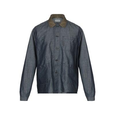 TINTORIA MATTEI 954 デニムシャツ ブルー 43 コットン 50% / 麻 50% デニムシャツ