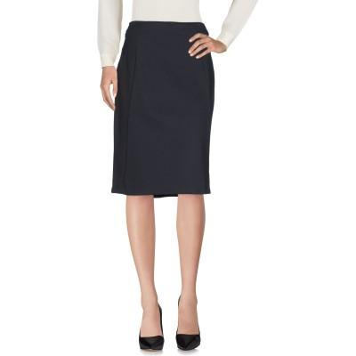 ディアナ ガッレージ DIANA GALLESI ひざ丈スカート スチールグレー 44 ナイロン 95% / ポリウレタン 5% ひざ丈スカート