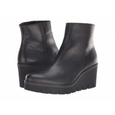 Gabor ガボール レディース 女性用 シューズ 靴 ブーツ アンクル ショートブーツ Gabor 93.780 Black【送料無料】