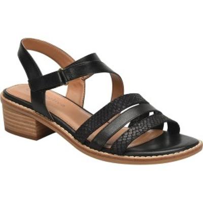 コンフォーティバ レディース サンダル シューズ Ballina Slingback Sandal Black Multi Smooth Leather