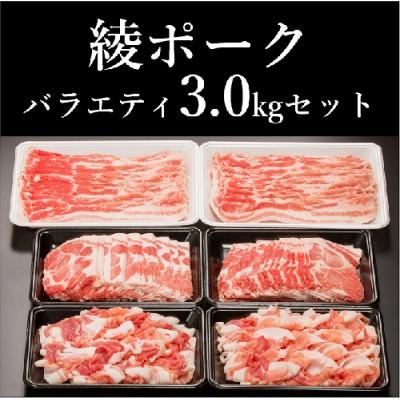 57-10_綾ポークバラエティ3.0kgセット