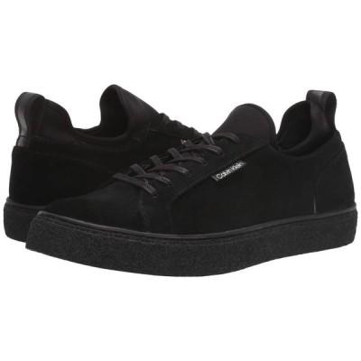 カルバンクライン Calvin Klein メンズ スニーカー シューズ・靴 Ellison Hi Black Suede/Neoprene