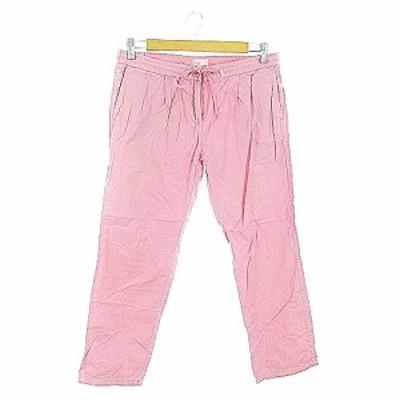 【中古】コーエン coen DAILY CLOTHING パンツ テーパード タック L ピンク /AAM29 レディース