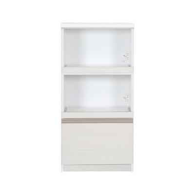 【大型商品送料無料】キッチン小物もまとめて収納できる家電ラック・レンジラック