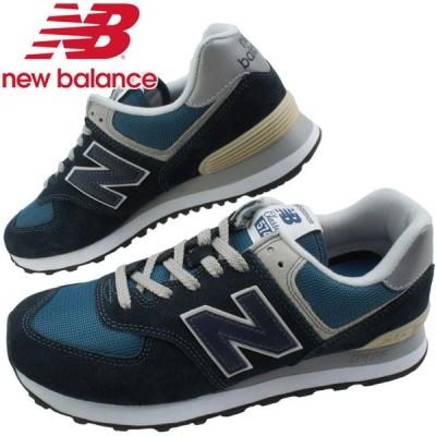 ニューバランス new balance スニーカー メンズ ML574 ワイズD ローカット ダークネイビー 靴