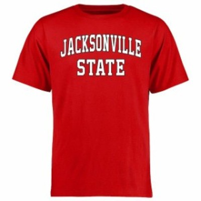 Fanatics Branded ファナティクス ブランド スポーツ用品  Jacksonville State Gamecocks Red Everyday T-Shirt