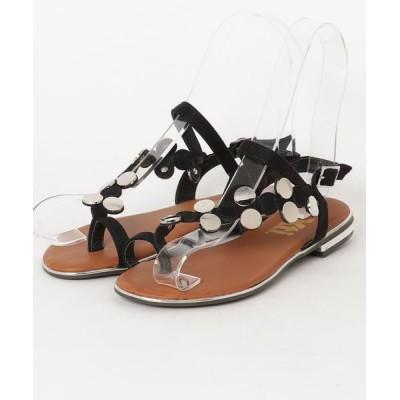 Xti Shoes / 【XTI / エックスティーアイ】ゴールドモチーフリングサンダル WOMEN シューズ > サンダル