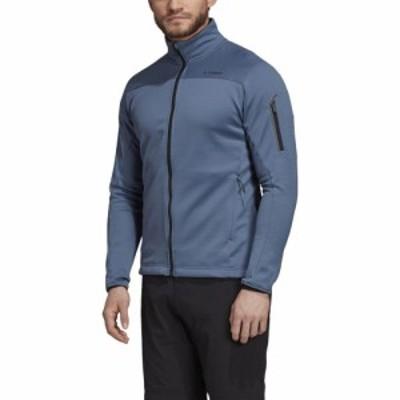 アディダス Adidas メンズ フリース トップス Terrex Stockhorn II Fleece Tech Ink
