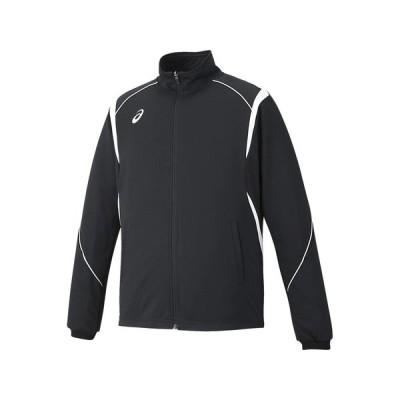 [アシックス] フィットネス ジャケット XAT143 メンズ ブラック/ホワイト 日本 O (日本サイズ2L相当)