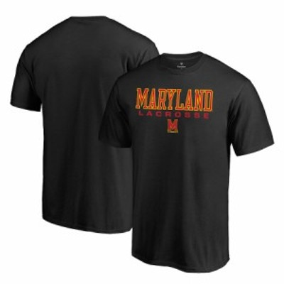 "ファナティックス メンズ Tシャツ ""Maryland Terrapins"" Fanatics Branded True Sport Lacrosse T-Shirt - Black"