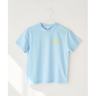 tシャツ Tシャツ 【KIDS】配色メッセージ半袖Tシャツ