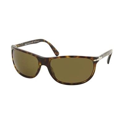 Persol Man Sunglasses, Tortoise Lenses Acetate Frame, 62mm【並行輸入品】