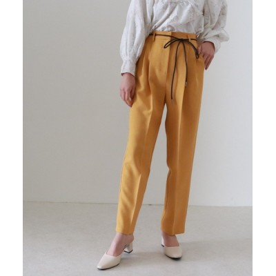 archives / 合革ベルト付カラーパンツ WOMEN パンツ > スラックス