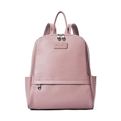 BOSTANTEN Women Genuine Leather Backpack Rucksack Ladies Casual Daypacks Shoulder Bag Purse School Satchel for College Medium 並行輸入品
