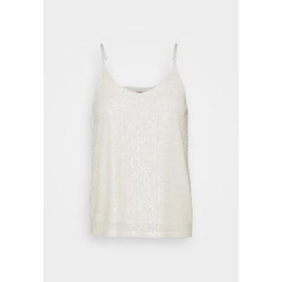 ジェイディーワイ レディース ファッション JDYSEA SEQUINS SINGLET - Top - marshmallow