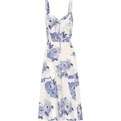 ラルフ ローレン Polo Ralph Lauren レディース ワンピース ミドル丈 ワンピース・ドレス floral cotton midi dress Painted Blossom