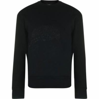 ヒューゴ ボス BOSS メンズ スウェット・トレーナー トップス Meissen Sweater Black