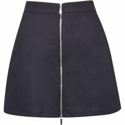 フレンチコネクション French Connection レディース ミニスカート スカート Raisa Shine Denim A Line Mini Skirt Blue