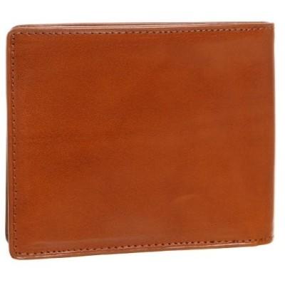 [オリーチェ] 二つ折り財布 オリーチェレザー使用 メンズ (ゴールド)