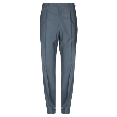BRUNO SAINT HILAIRE パンツ 鉛色 52 バージンウール 87% / ナイロン 10% / ポリウレタン 3% パンツ
