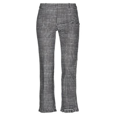 マイケル・コースコレクション MICHAEL KORS COLLECTION パンツ ブラック 14 コットン 97% / ポリウレタン 3% パンツ