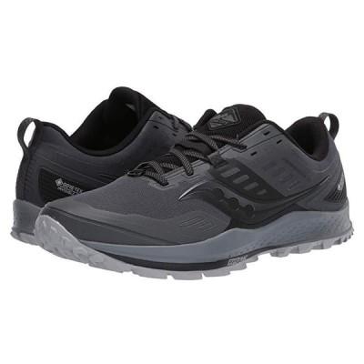 サッカニー Peregrine 10 GTX メンズ スニーカー 靴 シューズ Grey/Black